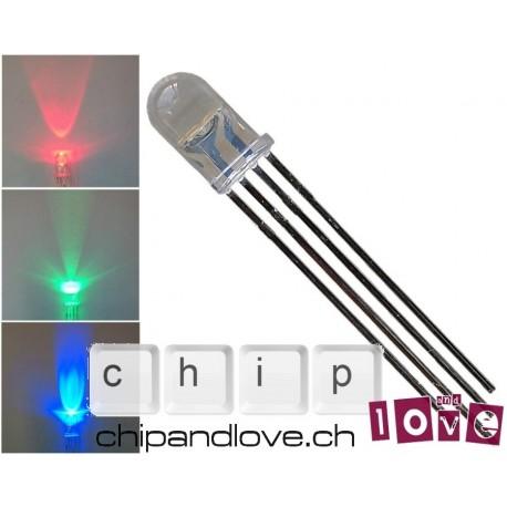 LED tricolore (rouge-vert-bleu)