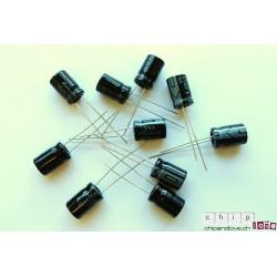 10x condensateurs 470uF/16V