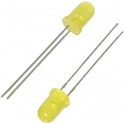 10x LED 5mm [JAUNE]