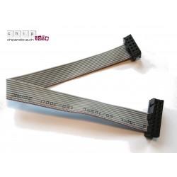 Flachbandkabel IDC 10-16 pin 20 cm