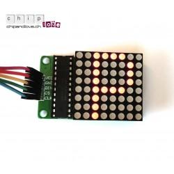 8x8 Matrix LED-Display Kit für Arduino