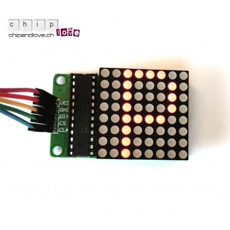 8x8 Matrix LED Kit pour Arduino
