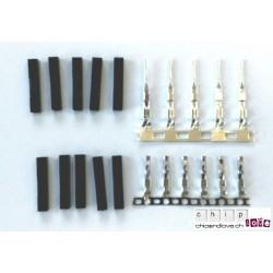 10 x Pin-Buchse 1p Dupont + 2 x 5 Buchse M/F