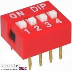 DIP-Schalter 4 BITS