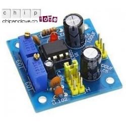 Générateur de signaux carrés NE555