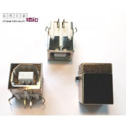Connecteur USB femelle type B pour PCB