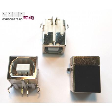 Prise USB femelle type B pour PCB