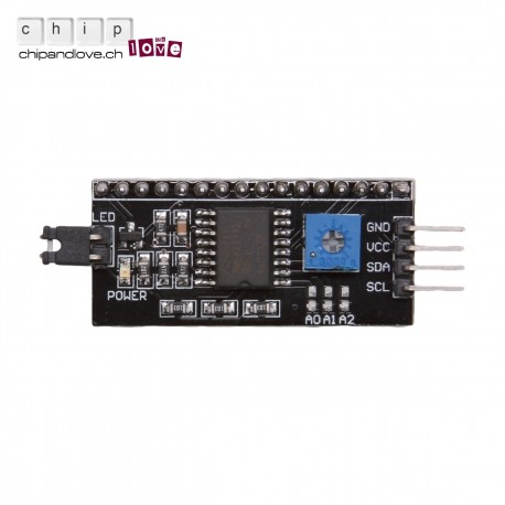 Interface I2C pour LCD 1602