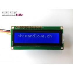 Blau LCD 16x2 für Arduino