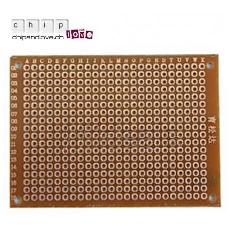 Prototyping PCB board 5 x 7mm