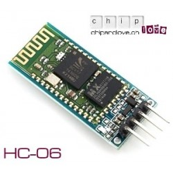 Module Bluetooth (esclave) HC-06 RS232