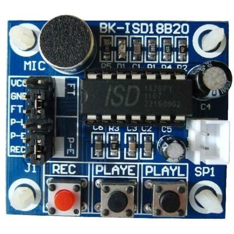 Rec audio module ISD1820