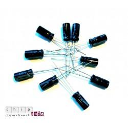 10x Elektrolytkondensator 1uF/63V