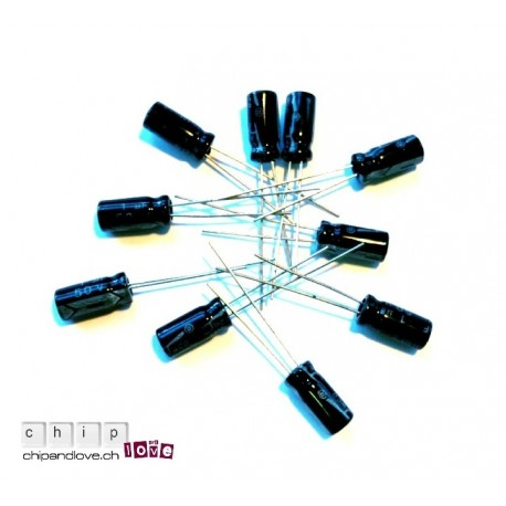 10x condensateurs 1uF/50V