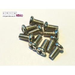 10 x Schraube M3 6mm