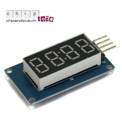 4 Bits Digital LED Display TM1637