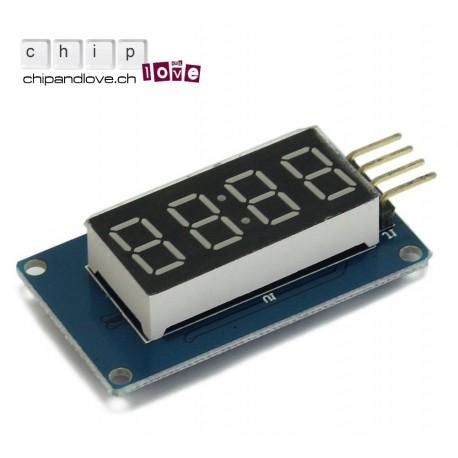 4 Bits Digital LED Display