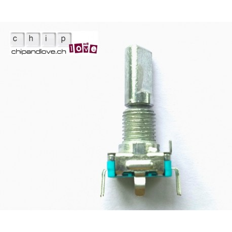 Encodeur rotatif 20 pas avec switch