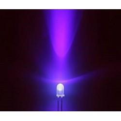 10 x LED transparente 5mm [UV]