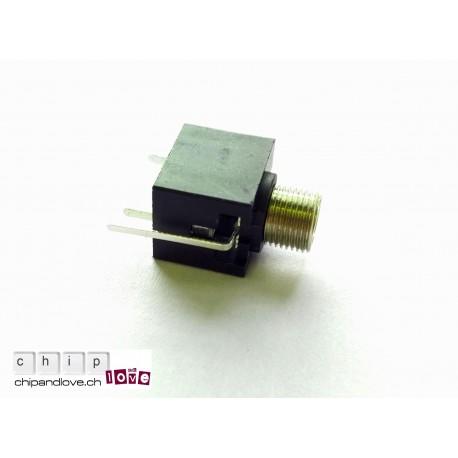 Prise jack mono 3.5mm pour montage vertical
