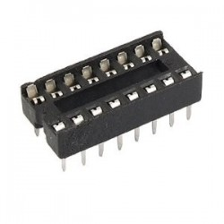 Socket pour IC DIP16