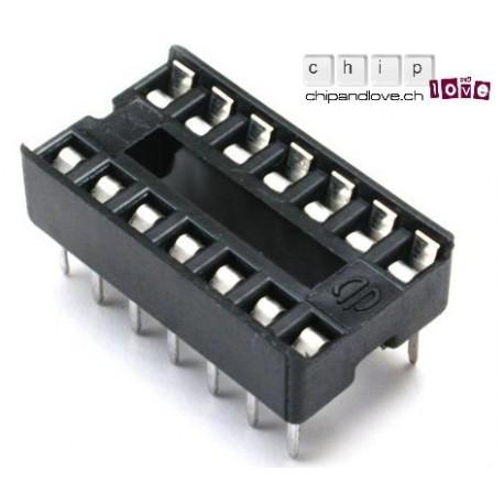 Socket pour IC DIP14