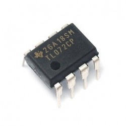 Dual operational amplifiers TL072CP